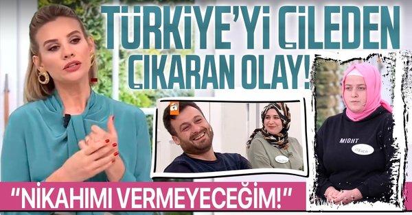 Esra Erol Programında Yaşanan Akıl Almaz Olay Türkiye'de Gündem Oldu!