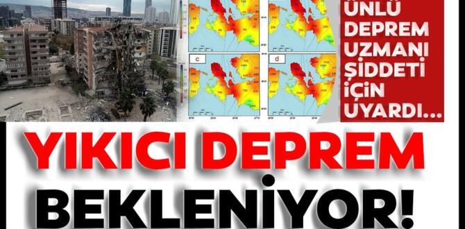 Prof. Dr. Ercan'dan deprem uyarısı: 'İzmirlileri korkutmak istemem ama…'