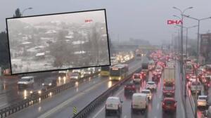 Son dakika haberler: İstanbul'da beklenen kar yağışı başladı! İstanbul'da kar yağışı 5 gün sürecek...