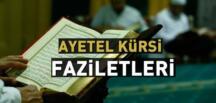 AYET-EL KÜRSİ MUCİZELERİ