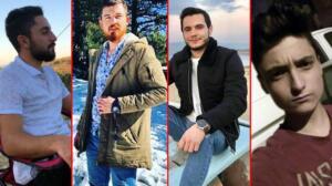 """Manisa'nın Ahmetli ilçesinde yan yana cansız bedenleri bulunan 4 arkadaştan Serkan Zangal, Muharrem Zengin ve Neşet Dalgın'ın ölmeden kısa süre önce """"Öbür tarafta görüşürüz"""" ifadelerinin yer aldığı bir video çektikleri ortaya çıktı. Gençler, görüntüde Mert isimli bir arkadaşlarına veda ediyor. Ahmetli'nin Kestelli Mahallesi Bintepeler Akçeşme mevkisinde, 31 Ocak Pazar günü saat 17.00 sıralarında yan yana cansız bedenleri bulunan gençlerden üçünün, cep telefonu kamerasıyla görüntü çekip, ailelerine gönderdikleri ortaya çıktı."""
