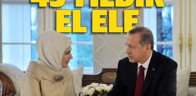 Emine Erdoğan eşi Cumhurbaşkanı Erdoğan'ın doğum gününü tam 00.01'de bu sözlerle kutladı