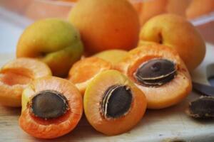B17 VİTAMİNİ İÇEREN SEBZE VE MEYVELER KAYISI ÇEKİRDEĞİ : B17 Vitamini ana meyvesinde çok fazla değil de asıl olarak çekirdeğinde bulunmaktadır. Kayısıdan çıkan çekirdek ve narenciye sınıfında olmayan elma,şeftali,kiraz,erik ve kuru erik gibi meyvelerin kendisinde ve çekirdeklerindede bulunmaktadır.