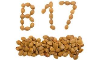 6. Tahıllar Bakla, kara fasulye, meksika fasulyesi, lima fasulyesi ve nohut gibi tahıl türleri yüksek miktarda B17 vitamini içerir. Kuru hallerinden yemek yapabilir veya filizlenmelerini sağlayarak taze olarak tüketebilirsiniz.