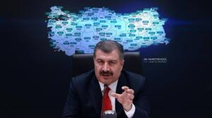 Sağlık Bakanı Dr. Fahrettin Koca'nın açıkladığı 'illerde 100 bin nüfusa karşılık gelen haftalık toplam vaka sayısı haritasında' 100 binde 458,53 vakaya sahip olan Samsun yine birinci sırada yer aldı.