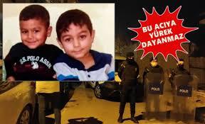 OLAYIN GEÇMİŞİ Çekmeköy'de dün 4 yaşındaki Hasan ve 8 yaşındaki Hüseyin Büyür kardeşler saat 13.30 sıralarında kayboldu. İhbar üzerine polis ekipleri ve AFAD tarafından aranan kardeşler, evlerinin hemen arkasında bulunan inşaatın asansör çukurunda bulundu. İçi yağmur suyu ile dolan çukurda bulunan çocukların hayatını kaybettiği belirlendi.