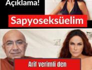 Arif Verimli'den Hülya Avşar'a 'sapyoseksüel' göndermesi