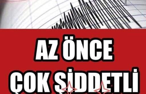 Şiddetli Deprem