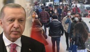 Cumhurbaşkanı ve AKP Genel Başkanı Recep Tayyip Erdoğan, yeni tip Koronavirüs (Covid-19) salgınında vaka ve ölüm sayılarını artmasının ardından Bilim Kurulu'nun tam kapanma önerisini ksımen kabul edip 13 Nisan'da iki haftalık 'kısmi kapanma' kararı alındığını açıkladı.