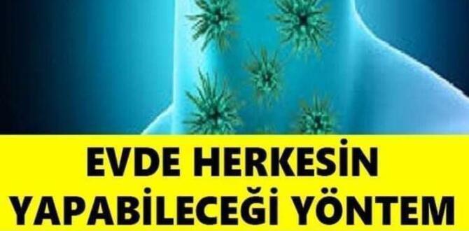 Corona virüse karşı akciğeri güçlendirmenin 4 etkili yolu..