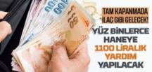 Bakan Yanık : 2 milyonu aşkın haneye 1100 lira destek ödemesi yapılacak
