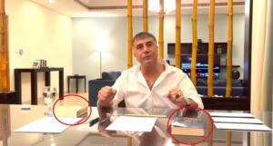 Suç örgütü lideri Sedat Peker, bu kez Twitter hesabından video yayınladı. Sedat Peker, İnternethaber sitesinin sahibi Hadi Özışık ile yaptığı görüntülü görüşmeyi paylaştı. Hadi ve kardeşi Süleyman Özışık'ı videolarında arkadaşı diye tanıtan Peker, bu kez sözünün arkasında durmadağı için deşifre etti.