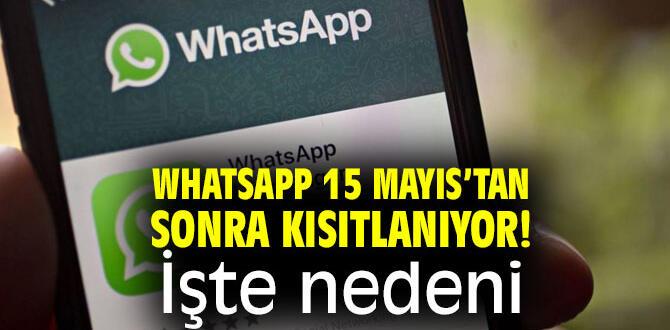 15 Mayıs'tan sonra gizlilik sözleşmesini onaylamayanları neler beklediğini WhatsApp açıkladı.