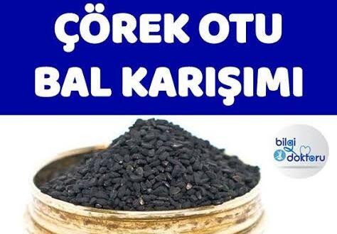 Doğal Kanser İlacı Çörek Otu Bal Karışımı..
