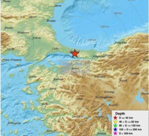 Büyüklük : 3.9 (ML) Yer : Kartal (Istanbul) Tarih-Saat : 19.06.2021, 15:07:52 TSİ Enlem : 40.9413 N Boylam : 29.2328 E Derinlik : 7.06 km kısa süreli ve orta şiddette bir deprem. Geçmiş olsun, daha büyükleri için hatırlatma oldu hepimize.