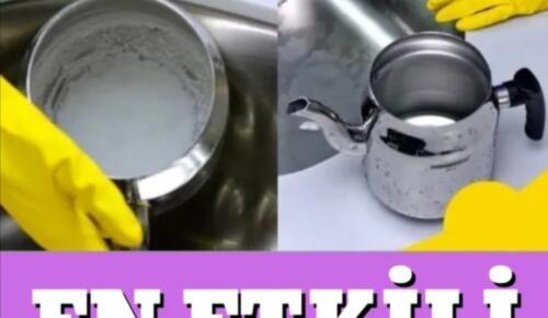 Kirden Kireçten Eser Yok! Çaydanlık Kireci Temizleme Yöntemleri