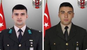 Milli Savunma Bakanlığı (MSB), Pençe Harekatı bölgesinde çıkan çatışma sonucu 2 askerin şehit olduğunu açıkladı. MSB, Irak'ın kuzeyindeki Pençe Harekatı bölgesinde teröristlerle çıkan çatışmada 2 askerin şehit olduğunu, 1 teröristin ise etkisiz hale getirildiğini duyurdu.