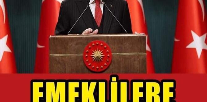 Cumhurbaşkanı Erdoğan'dan emeklilere müjde: