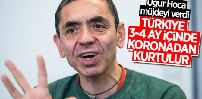 Prof. Dr. Uğur Şahin, Türkiye'de normalleşme için tarih verdi