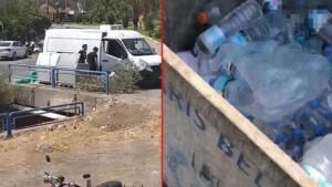 Orman işçileri, itfaiyeciler ve duyarlı vatandaşlar yangınları söndürmek için mücadele ederken, polis ekipleri de yangınları fırsat bilenlerle mücadele ediyor. Marmaris Armutalan'da devam eden yangınları söndürmek için canla başla mücadele eden personelin sularını çöpe attıkları tespit edilen 3 şahıs, gözaltına alındı. Şüpheliler, ifadesinde plastik şişe ve damacanaları buz tutup çatladığı için çöpe attıklarını söyledi.BALKONDA ÇAMAŞIR ASAN KADIN FARK ETTİ