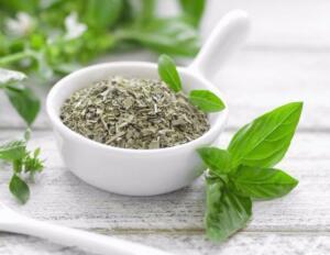 FESLEĞEN Fesleğen, nane ailesine ait aromatik yeşil yapraklı bir bitkidir. Fesleğenin birçok çeşidi vardır. Fesleğen, dünya çapında geleneksel ve bütünsel tıp sistemlerinde oldukça popülerdir. Antioksidan içeriği bakımından zengindir. Gıdalardaki taze veya kuru fesleğen miktarı yetersiz olduğu için araştırmaların çoğu fesleğenlerden elde edilen uçucu yağlar üzerinde yapılmaktadır. taze veya kurutulmuş fesleğen baharat olarak kullanılabilir. Ayrıca çay olarak da tüketilmektedir.