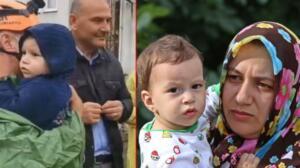 3 ÇOCUĞUYLA 1 GÜN BOYUNCA MAHSUR KALDI Sel felaketine, Bozkurt ilçesindeki evinde 3 çocuğu ile yemek yerken yakalanan Elif Yüksel ise 1 gün mahsur kaldı. Dalgıç polisler ve İHHekipleri tarafından ilk olarak 2 buçuk yaşındaki kızı ile birlikte helikopterle evin çatısından kurtarılan Yüksel, güvenli bölgeye alındı.