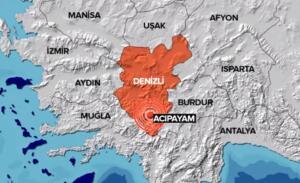 AFAD'dan alınan son dakika bilgisine göre Denizli'nin Honaz ilçesinde 3.8 büyüklüğünde deprem meydana geldi.