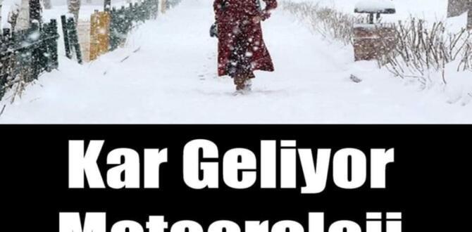 Meteoroloji tarih verdi: Sıcaklıklar 10 derece birden düşecek! O illere kar yağışı geliyor