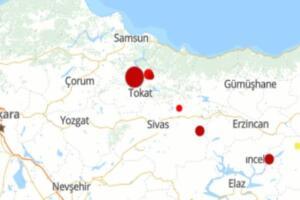 Son dakika haberine göre, Tokat'ın Niksar ilçesinde 4,3 büyüklüğünde deprem meydana geldi. Deprem çevre illerden de hissedildi. AFAD'dan yapılan açıklamada gelişmelerin takip edildiği bildirildi.