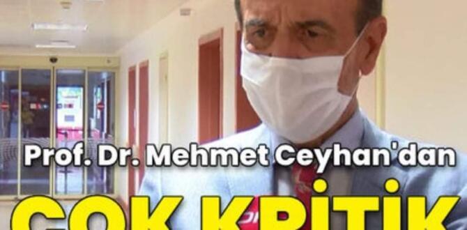 Çocuklarda Belirtiler değişti! Prof. Dr. Ceyhan'dan ailelere koronavirüs uyarısı