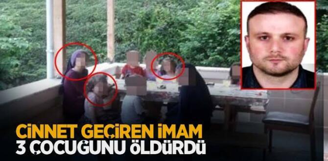 Trabzonda Cinnet geçirten baba 3 çocuğunu vurdu!