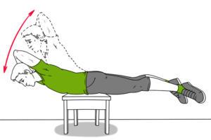 İşte O Egzersizler 1. Masa üstünde yapılan egzersiz