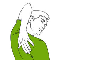 Sırtüstü uzanın. Ellerinizi vücudunuz boyunca uzatın. Bacaklarınızı başının arkasına doğru atın ve zemine ayaklarınızla dokun. 10 kez tekrarlayın. 3. Sırtınızı gerin