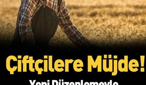 Çiftçiye müjde! 5 milyarlık geri ödeme