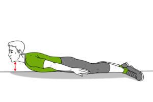 Sırt üstü yatın. Dizlerinizi ellerinizle sıkın ve göğsünüze doğru itin. Vücudunuzu ileri geri sallamaya başlayın. 10 kez tekrarlayın. 6. Sırt kaslarını güçlendirmek için egzersiz