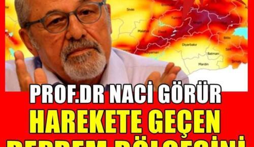 Deprem Uzmanı Naci Görür Deprem Bölgesini Duyurdu!